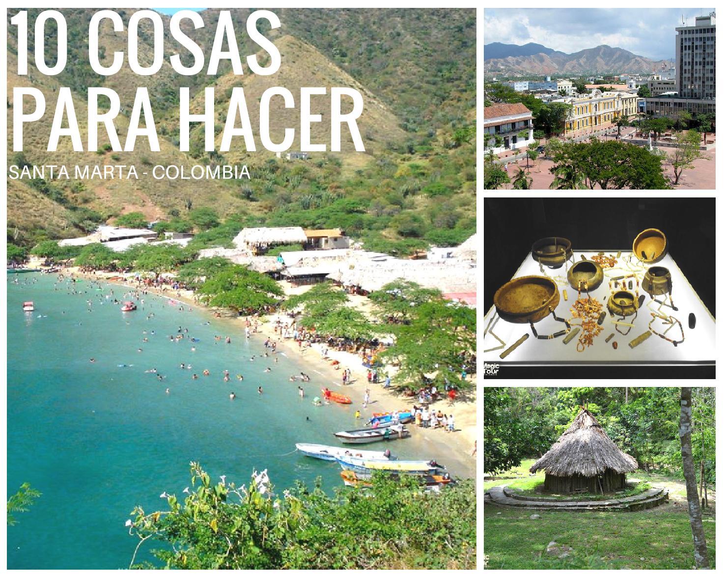 10 cosas que hacer en Santa Marta