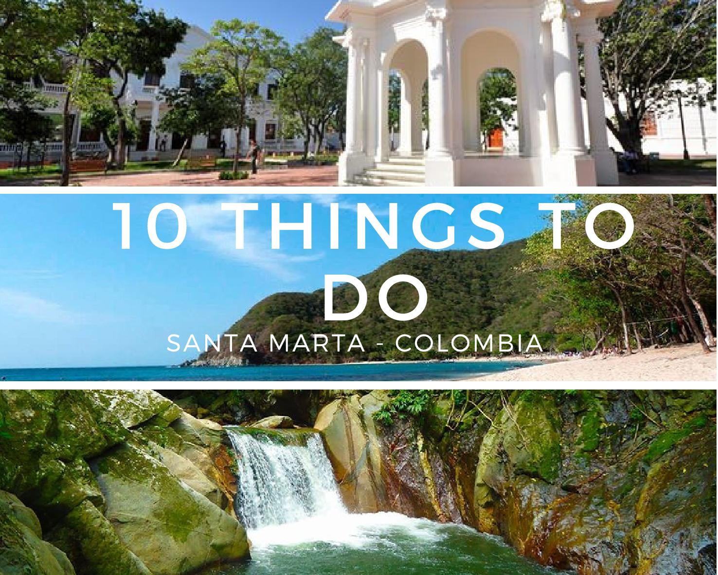 top 10 things to do in santa marta