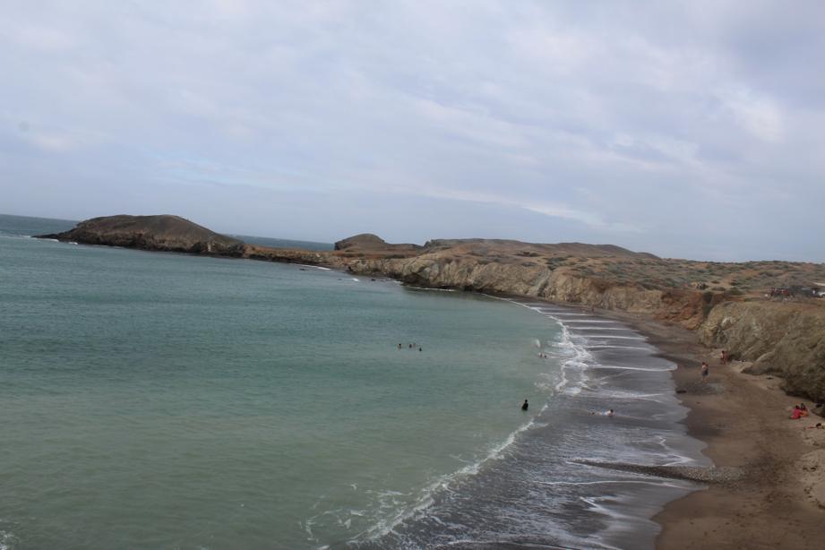 ojo de agua beach la guajira