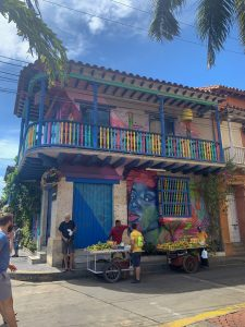 Centro historico cartagena colombia