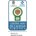 Certificado Calidad Turistica Atencion al cliente | Magic Tour Colombia