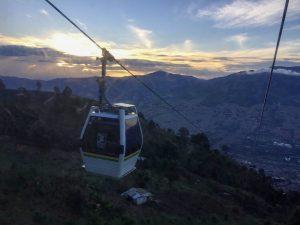 Teleferico en Medellin