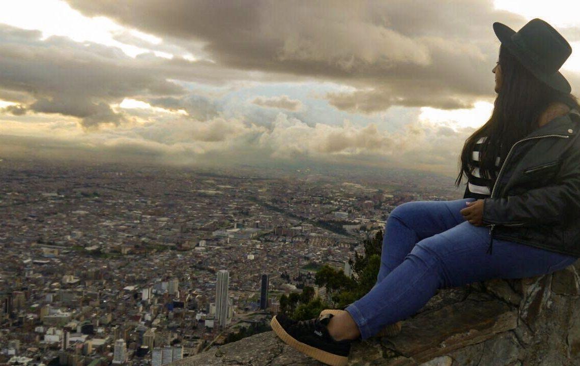 Vista del cerro de monserrate