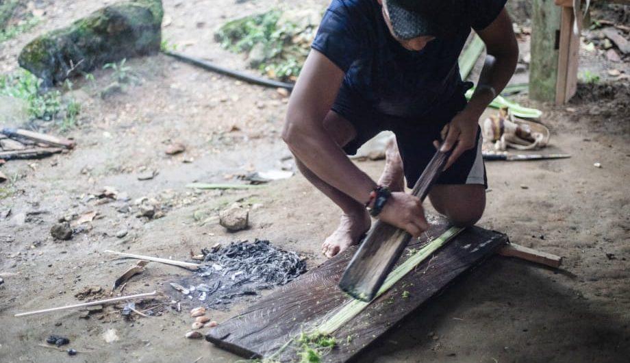 Indigenas en ciudad perdida