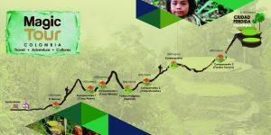 Mapa Ciudad Perdida Colombia