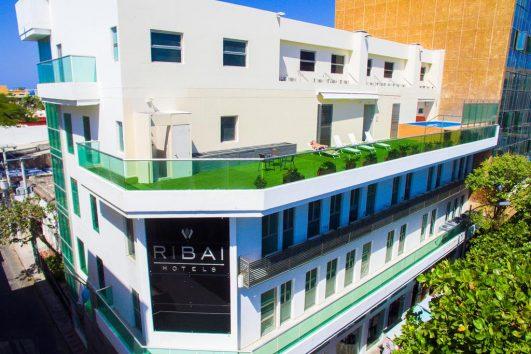 Fachada del hotel | Ribai Hotels