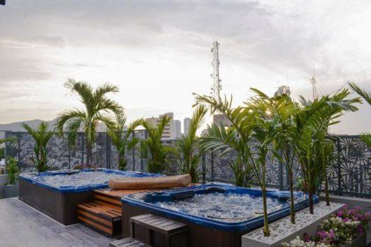 Jacuzzies | Hotel Perla Suite Santa Marta