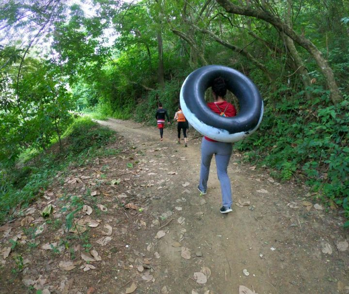 Tubing in Buritaca - Tayronaca Tour Colombia