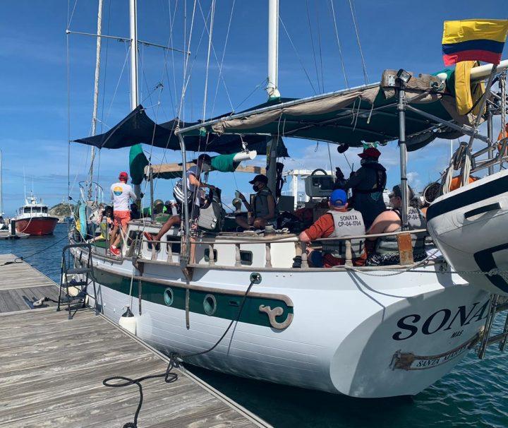 Tour en velero - Santa Marta - Colombia