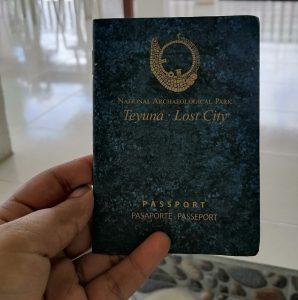 pasaporte ciudad perdida