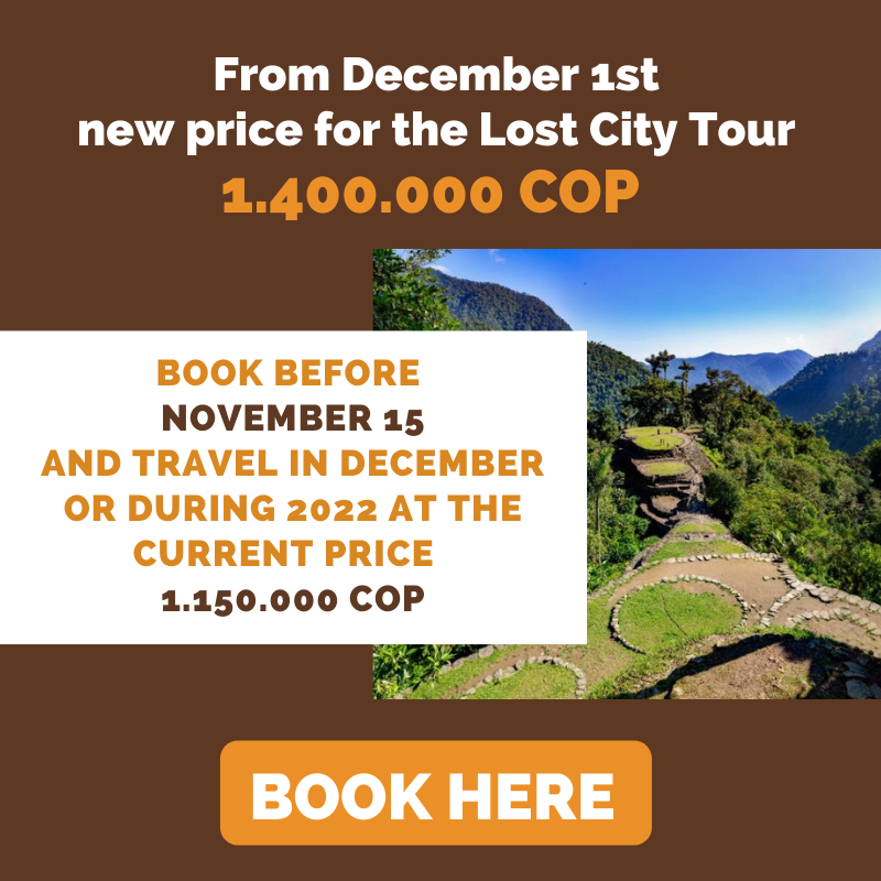 New price ciudad perdida santa marta | Magic Tour Colombia